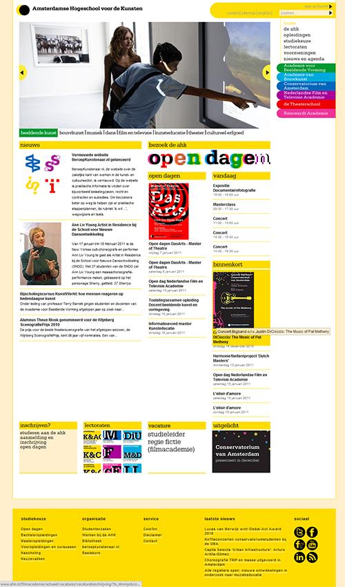 Portfolio image for Amsterdams Hogeschool voor de Kunsten